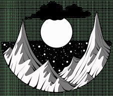 горы-принт