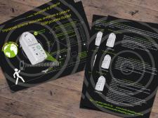 Дизайн листовки формата А5 для фирмы iSocket