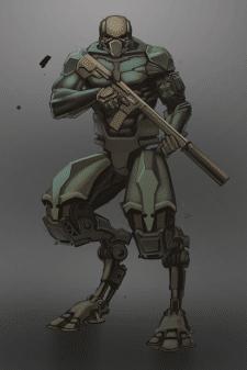 Мех-разведчик (концепт)