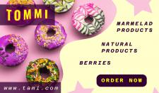 Баннер на сайт сладостей