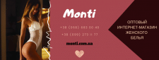 Обложка Фейсбук для интернет-магазина Monti