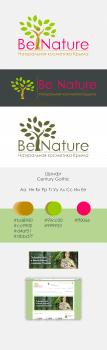 Логотип и баннер Be Nature