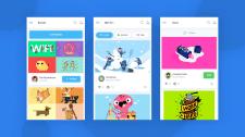 Uplabs - концепт дизайн мобільного додатку