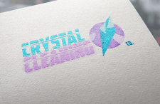 "Логотип ""Crystal Cleaning"""