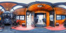 Сферическая панорама 360°, музей истории Ж/Д транс