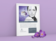 Sothys New Procedure Poster for Ark SPA Palace