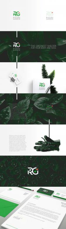 "логотип для ""riviera garden"""