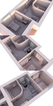 3D макет размещения мебели 1