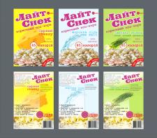 Разработка упаковки для полезного попкорна