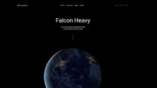 """Сайт компании """"Space X"""""""