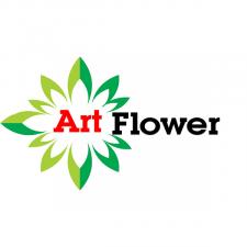 Логотип для цветочных магазинов. Пример 1