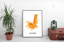 Фирменный постер для дизайн-студии