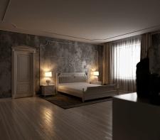 Спальная комната классика