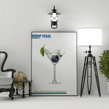 Promotional poster for Pegas Touristik.