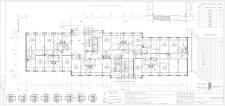 Рабочий кладочный чертеж 24х этажного жилого здани