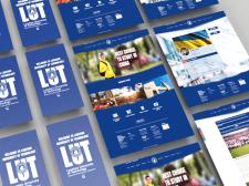 Сайт для Китайского университета LUT