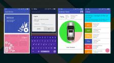 Приложение для автосервиса (только UI) для Андроид