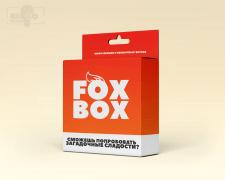Дизайн коробки для магазина сладостей