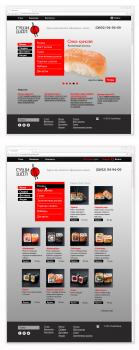Красивый Интернет-магазин для СУШИ SHOP