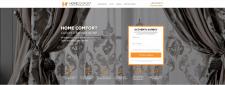 Верстка сайта для Салона Элитных штор
