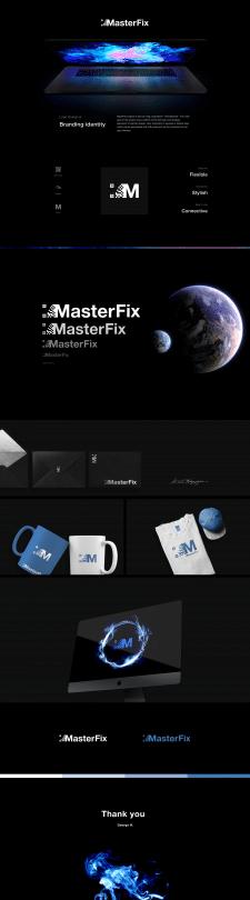 Masterfix logo design