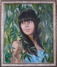 Портрет Ани.50*60 см.
