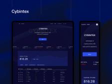 Cybintex - концепт биржи для торговли криптовалюто
