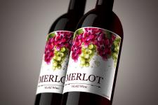 Вино этикетка2