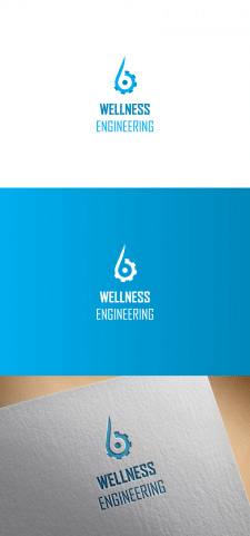 Логотип Wellness engineering на конкурс