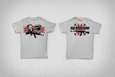 """Дизайн футболок для фестивалю """"Під Прицілом"""""""