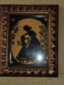 """Картина """"Мама с дочкой"""""""