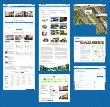 Страницы для сайта коттеджного поселка