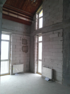 Реализация проекта в стиле Лофт на стадии ремонта
