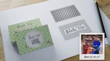 Логотип и фирменный стиль для кафе BellaVIta