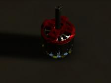 Бесколлекторный двигатель