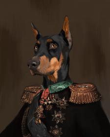 Портреты собак и кошек