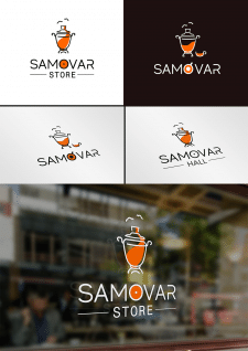 Логот ип для магазина продуктов и мини-кафе