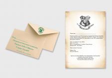 Пригласительное письмо + конверт