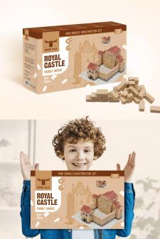Дизайн упаковки конструктора для Wise Elk