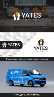 Логотип для компании Yates
