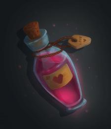 Бутылочка с волшебным зелъем