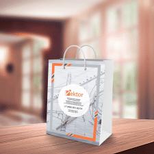 Дизайн бумажного пакета