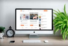 Разработка сайта на WordPress для БФ