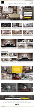 Дизайн сайта магазина по продаже мебели и интерьер