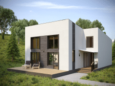 Скромный домик Архитектора