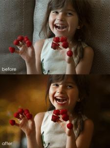 Изменение фона и цветокоррекция