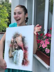 Стилизированые портреты