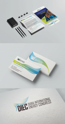 DIEC branding