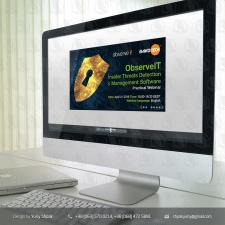 Баннер для вебинара по информ. безопасности