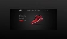 """Landing Page """"Nike"""""""